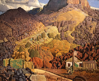 Deserted Mining Camp, c 1940 Ernest L. Blumenshein, 1874-1960 Harwood Museum of Art, Taos