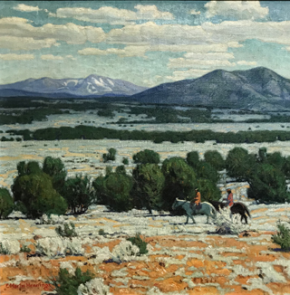 San Francisco Peaks, c 1920 E. Martin Hennings, 1886-1956 Harwood Museum of Art, TaosSan Francisco Peaks, c 1920 E. Martin Hennings, 1886-1956 Harwood Museum of Art, Taos
