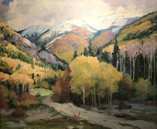 Taos Landscape, ND Joseph Henry Sharp, 1859-1953 Taos Art Museum at Fechin House
