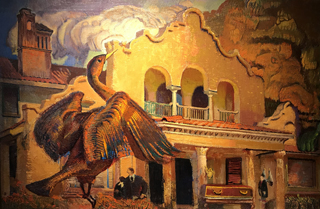 Alas, Proud Mansion, 1947 Ernest L. Blumenshein, 1874-1960 Blumenshein Home and Museum, Taos