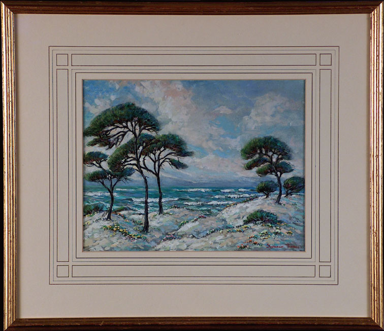 Stephen Seymour Thomas Monterey Coast with frame