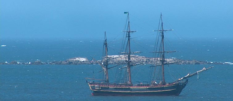 HMS Bounty Visits Bodega Bay