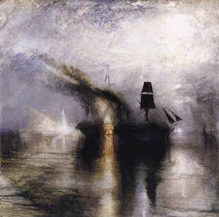 JMW Turner Burial at Sea