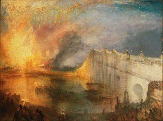 JMW Turner Parliament Burning