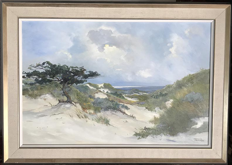 Meeuwis Van Buuren Dunes and Grasses with frame