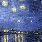 Vincent Van Gogh Starry Night Over the Rhone Thumbnail