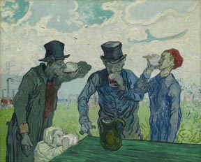 Vincent Van Goph The Drinkers