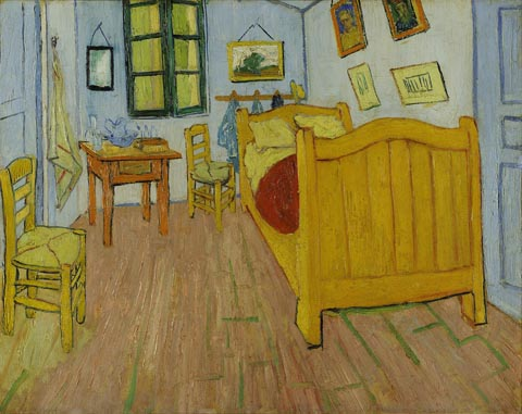 Vincent Van Gogh 1853-1890, Bedroom in Arles, 1888