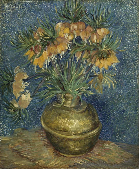 Vincent Van Gogh 1853-1890, Imperial Fritillaries in a Copper Vase, 1887