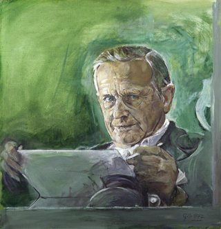 Graham Sutherland Self Portrait