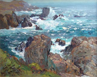 Carmel Highlands Coast William Ritschel