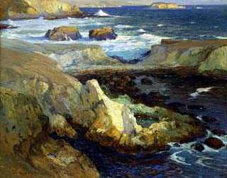 Evening Tide California Smithsonian American Art Museu