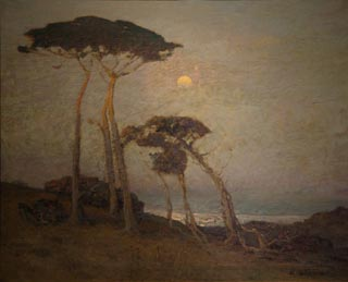 Moonlight in Monterey William Ritschel