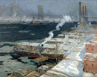 William Ritschel East River New York 1912 Monterey Museum of Art