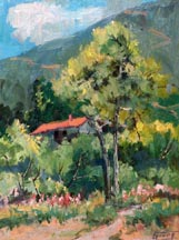 Florence Upson Young Cabin in the Foothills Midsized Thumbnail