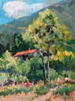 Florence Upson Young Cabin in the Foothills Thumbnail